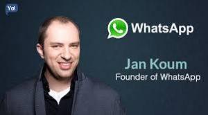 Vender uma idéia nem sempre é fácil, mas Jan Koum concretizou a sua ideia e a transformou num aplicativo que oferece um serviço mundial, e que fez o facebook pagar 22 bilhões de dólares